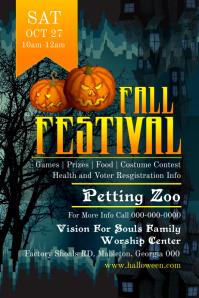 Halloween Festival Poster