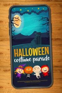 halloween flyer, halloween, happy halloween Plakat template