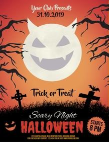 halloween flyer, halloween, happy halloween