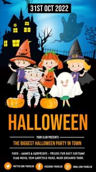 halloween flyer, happy halloween, halloween