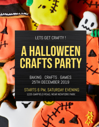 halloween flyer,halloween,halloween bake sale template