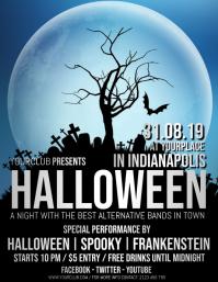 halloween flyer,halloween,halloween night