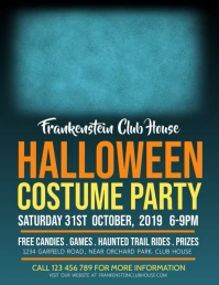 halloween flyer,halloween video