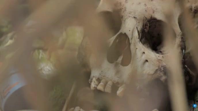halloween flyer and skeleton Isithonjana se-YouTube template