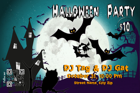 Halloween flyers and posters