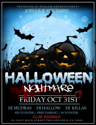 Halloween Flyer Templates PosterMyWall - Free halloween flyer templates
