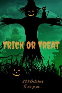 Halloween Flyer Templates Plakkaat