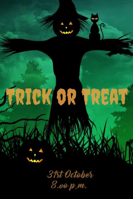Halloween Flyer Templates 海报