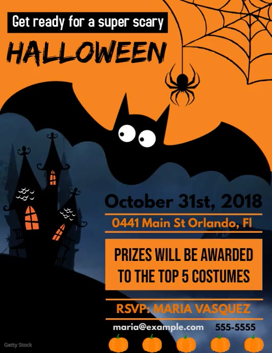 Halloween Flyer Video