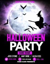 Halloween flyers, event flyers,party flyers