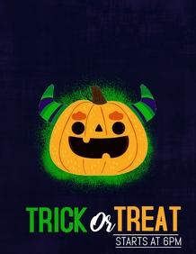 Halloween flyers,event flyer,costume flyers