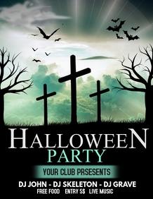 Halloween flyers,event flyers,party flyers