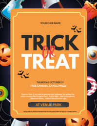 Halloween flyers,event flyers,party flyers template