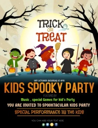 Halloween flyers,event flyers template