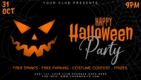 Halloween Flyers Biglietto da visita template