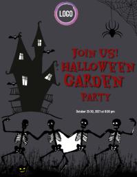 Halloween Flyers template