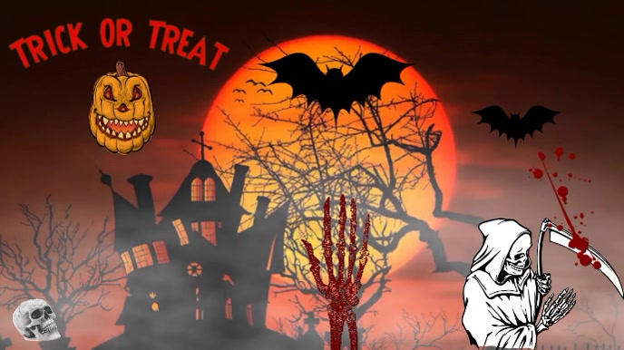 Halloween flyers video smoke template | PosterMyWall