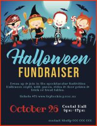 Halloween Fundraiser Flyer (US Letter) template