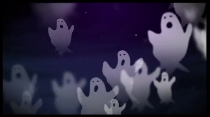Halloween Ghost Zoom Digital Background Template Postermywall