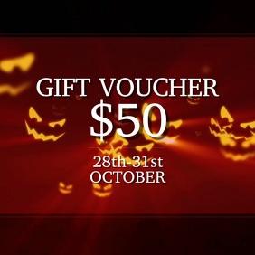 Halloween Gift Voucher