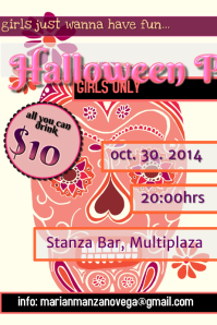 Halloween Girls Party