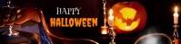 Halloween Google Classroom Banner template