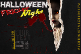 Halloween Haunted Doll Horror Costume Theme Party Event