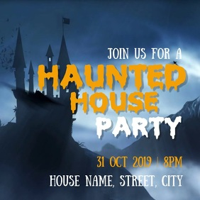 Halloween Haunted house party