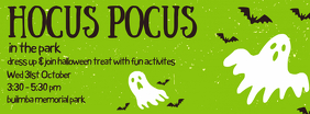 Halloween Hocus Pocus Facebook Cover Photo