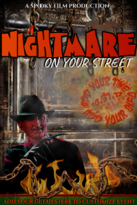 Halloween Horror Chain Nightmare Scary Party Costume Fall