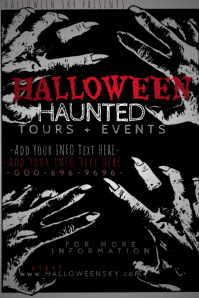 Halloween Horror Costume Party Thriller Blood Haunted