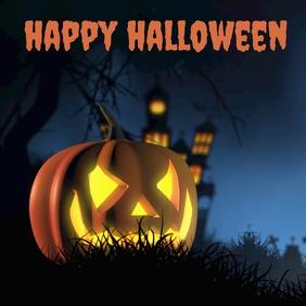 Halloween IG Cuadrado (1:1) template