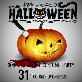 Halloween instagram template