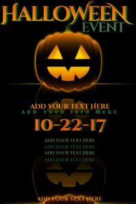 Halloween Jack Lantern Pumpkin Sugar Skull Blood Dead Dia