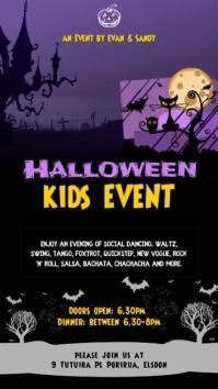 Halloween Kids Even Video Template
