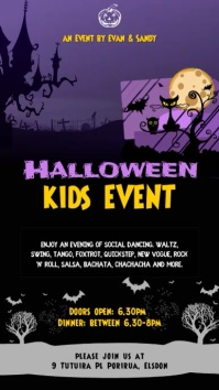 Halloween Kids Even Video Template