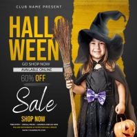 Halloween kids party, Halloween Instagram Post template