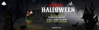 Halloween LinkedIn Career Cover Photo Isithombe Sekhava Yenkambo ye-LinkedIn template