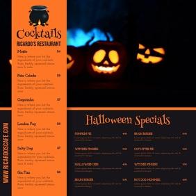 Halloween Menu Video Template