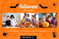 Halloween Mini Session 标签 template