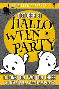 Halloween Night Club Poster