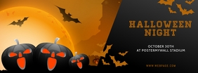 Halloween Night Facebook Cover Template