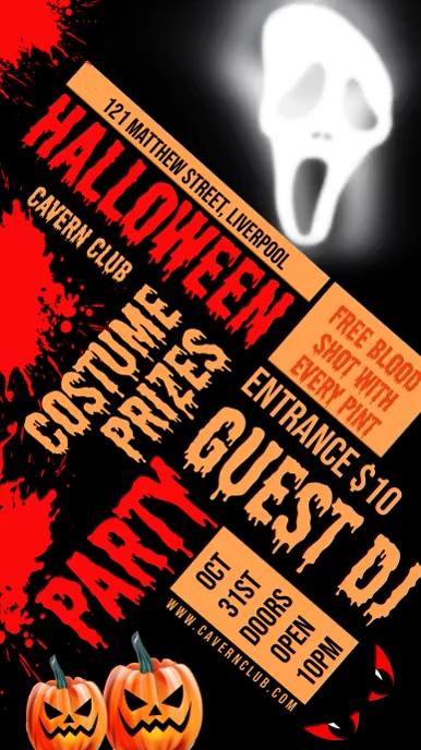 Halloween Night Party Video