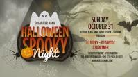 Halloween Night Twitter Post Iphosti le-Twitter template