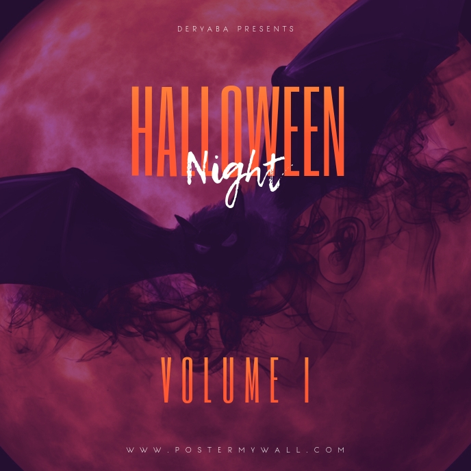 Halloween Night Volume 1 Mixtape Cover