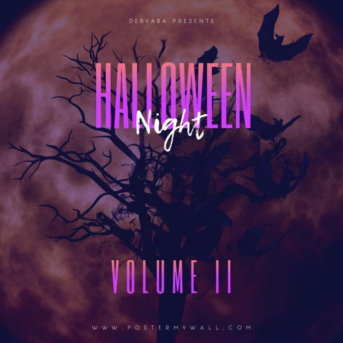 Halloween Night Volume 2 Mixtape Cover