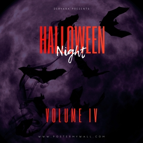 Halloween Night Volume 4 Mixtape Cover
