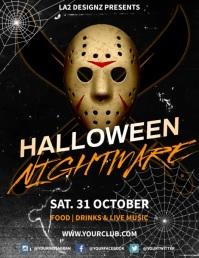 Halloween Nightmare Flyer v.1 template