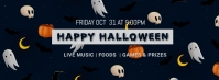 Halloween party,Halloween costume contest Couverture Facebook template