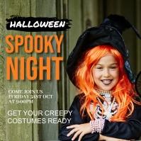 Halloween party,Halloween costume contest Instagram-opslag template